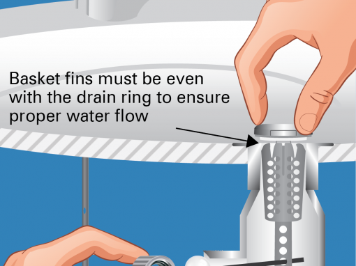 Drain Strain Installation Images