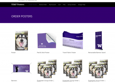 Poster Printing WooCommerce Site
