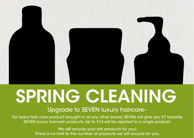 SEVEN Spring Cleaning Event